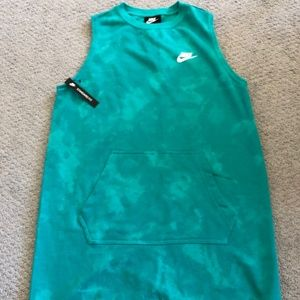 Nike Women's Sleeveless Club Terry Dress M NWT